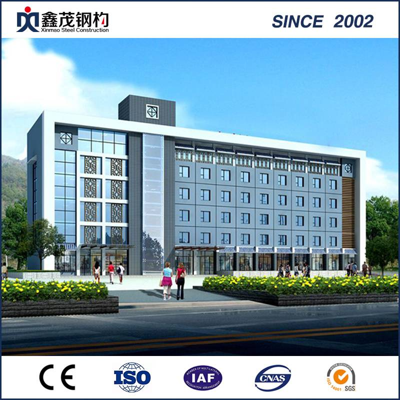 Fixed Competitive Price Steel Structure Building - Steel Structure for Shopping Mall with ISO Certification H Section – Xinmao ZT Steel