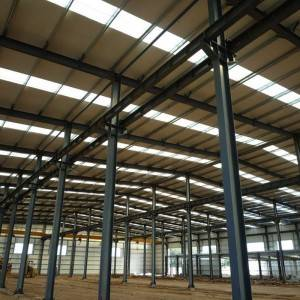 Kubwa Span Prefabricated Steel Structure Frame Uhifadhi Warehouse na Best Price