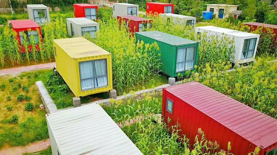 Prefabricated Shipping Container Hotel