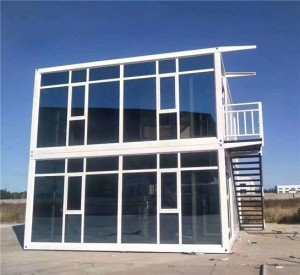 Portable Flat Pack Container House for Worker Office