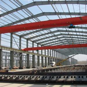 China Wholesale High Rise Pre akagadzira Steel Structure Frame nokuda Wekishopu