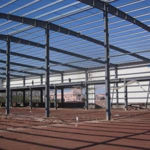 China Wholesale High Rise Pre Fabricated Steel Structure Frame for Workshop