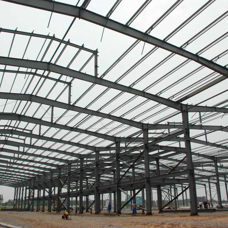 China Wholesale High Rise Pre Fabricated Steel Structure Frame for Workshop Featured Image