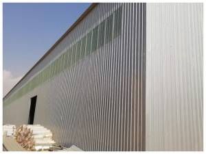 Top kona mea e like H shape Prefabricated Steel 'ole Workshop