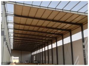 OmRopFryslan Prefab Industrial Structure Steel Warehouse Fabrikant