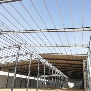 China Prefabricated Steel Structure nkwakọba Onodi Na Africa