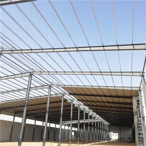 steel structure warehouse in Africa