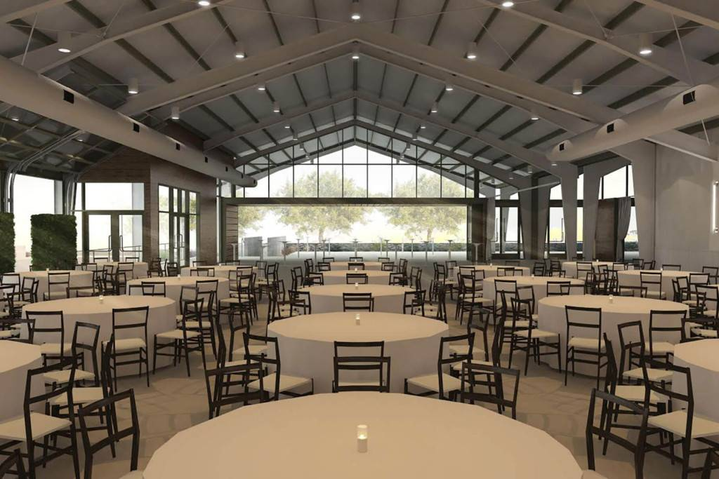 Prefabricated H Beam Steel Structure Wedding Hall ʻAha Kūkākūkā Hale Hōʻikeʻike