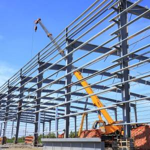 ISO Sertifikaat ISO Standert Steel Structure Workshop meitsjen Factory Supplier Maker