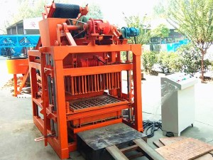 TJ4-28 Automatic Concrete Hollow Block Making Machine