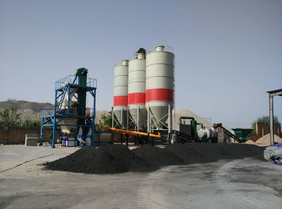 drying system full-auto dry mortar mixing plant