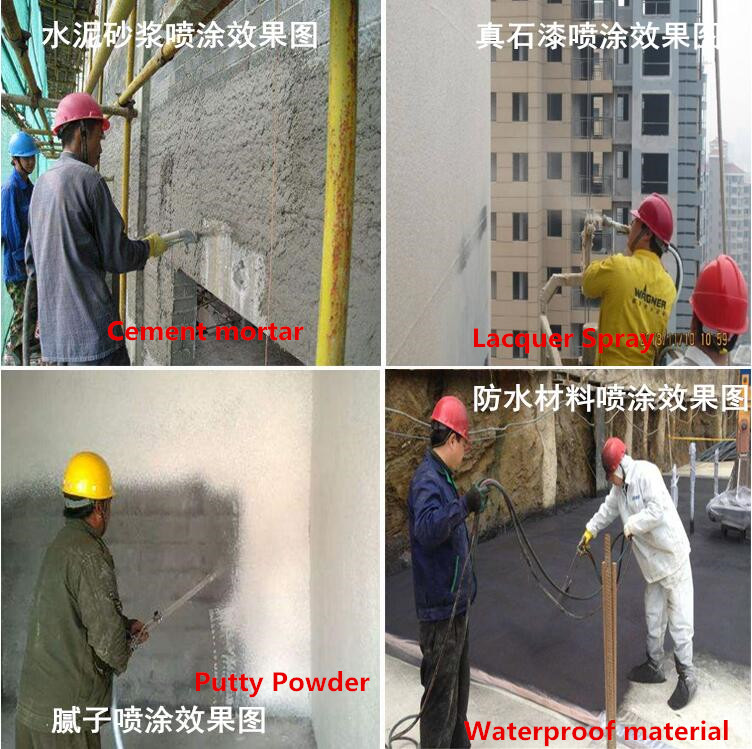 mortar spraying effective