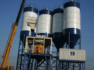 High Quality Bolted Cement Silo 150t - Dust Collector on the top of silo – QuanHua