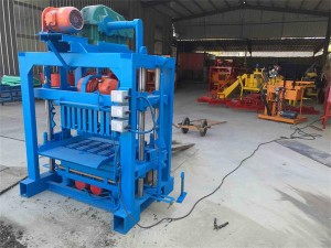 Hot sale QTJ4-40 Cement Interlocking Hollow Brick Block Making Machine