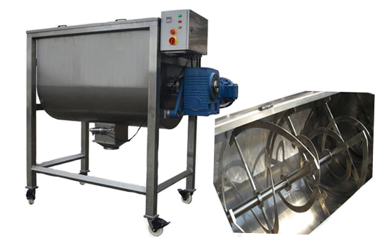 SS Ribbon mixer powder machine