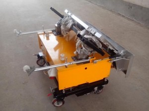 Wall Plastering Machine