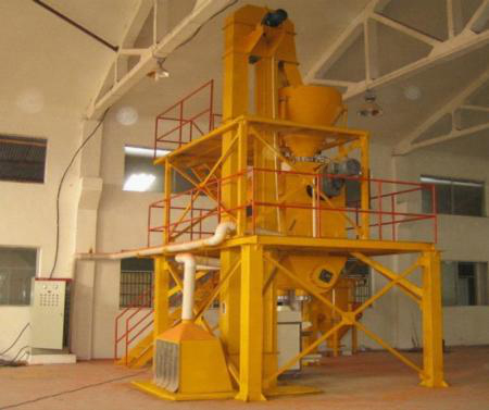 Capacity  50KT each year ready mix plaster   plant