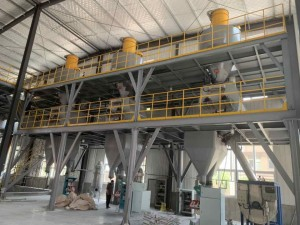 QH-40 Series Dry Powder Mortar Plant