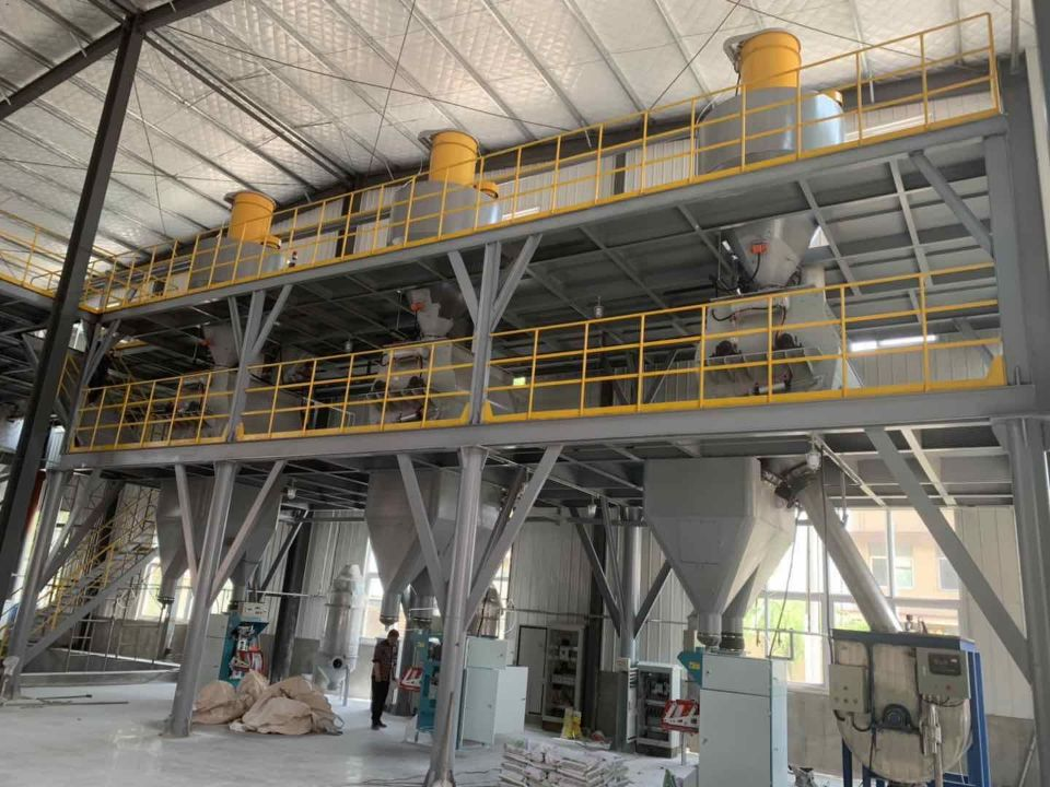 DF-40 Full-Auto 10TH dry mortar batching plant