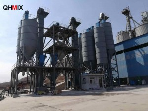 OEM/ODM Factory Horizontal Ribbon Blender - QH-60 Series Dry Powder Mortar Plant – QuanHua
