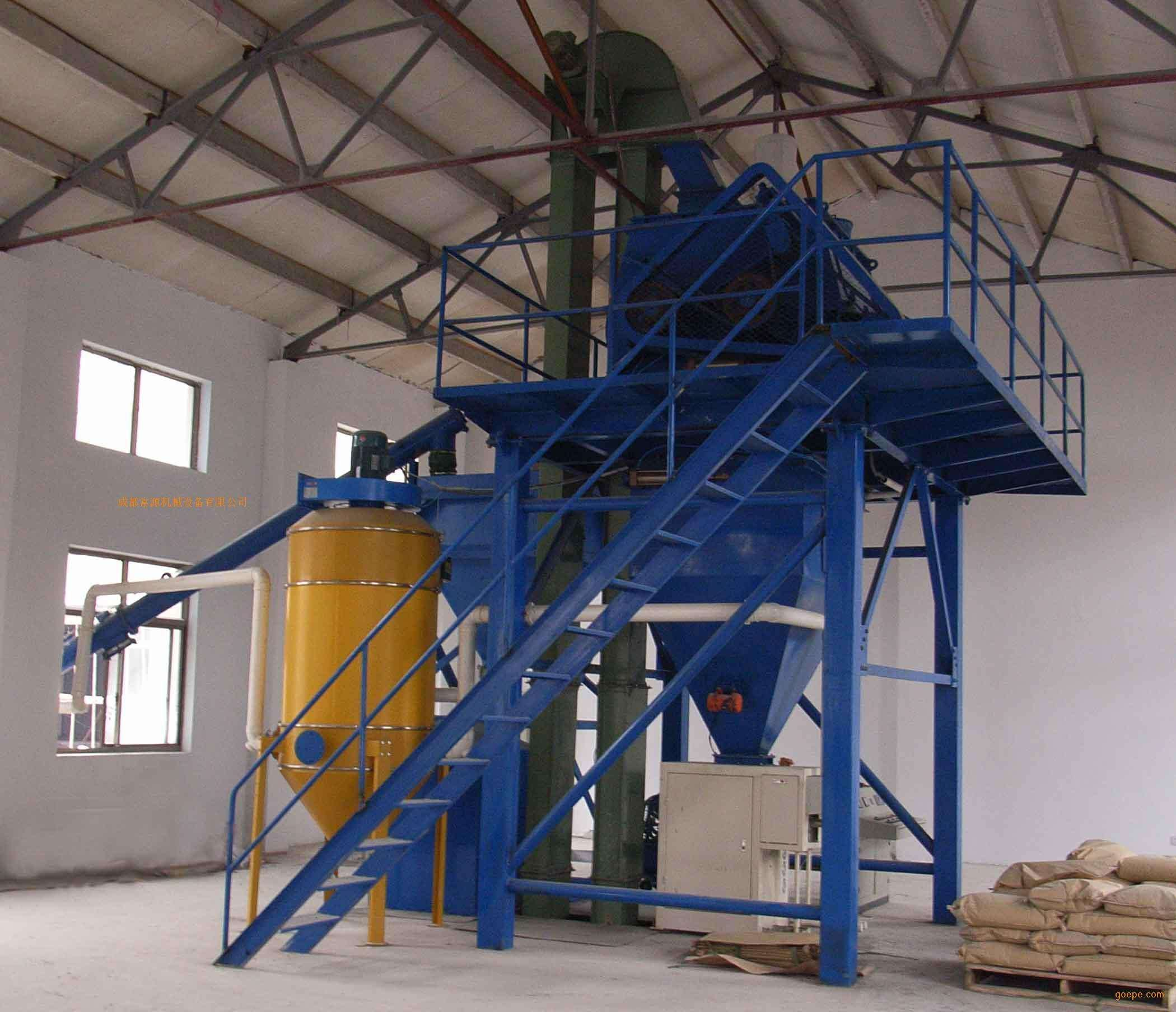 Simple Type 5TH tile adhesive manufacturing plant