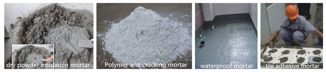 Dry mortar used