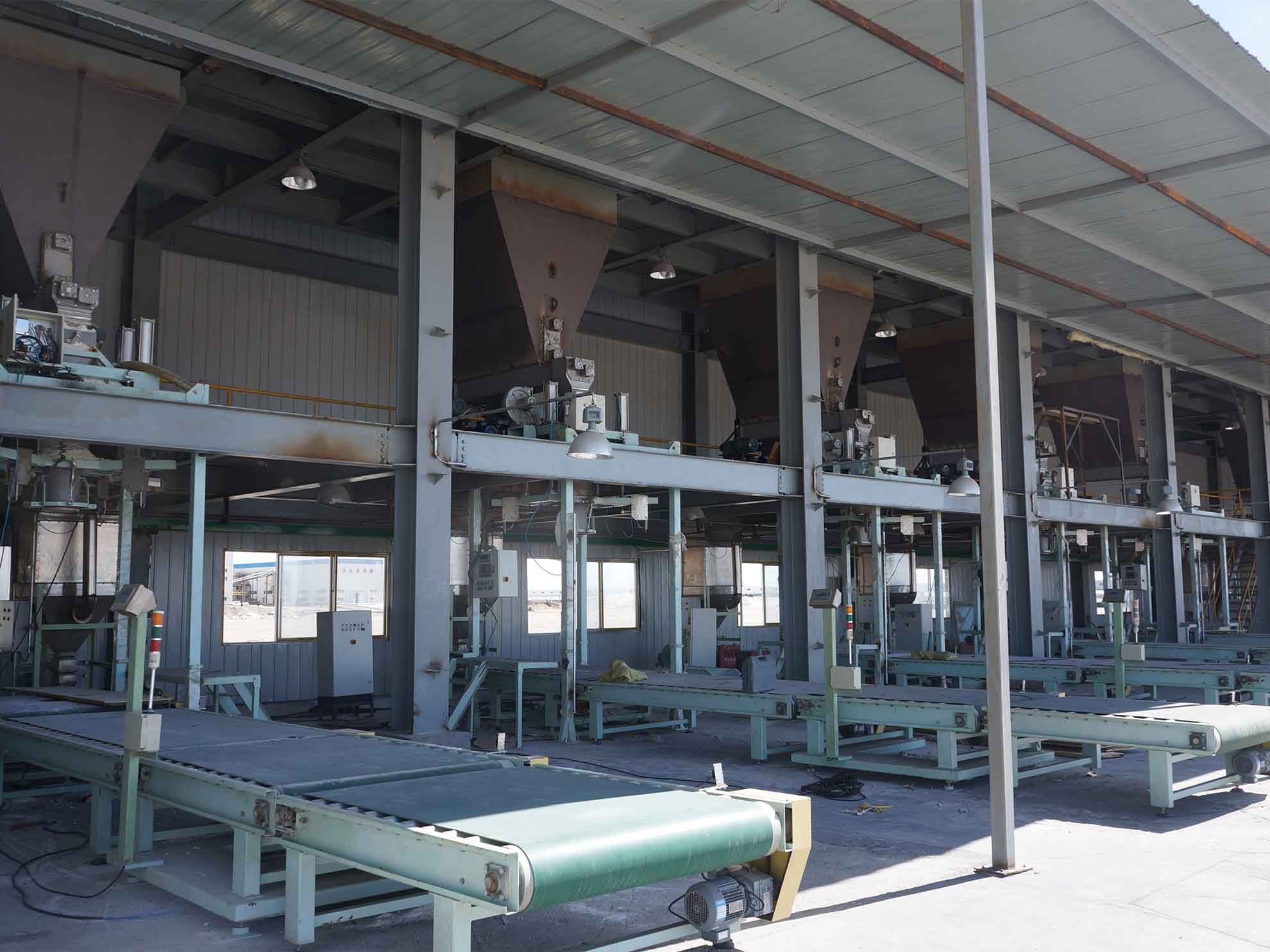 Jumbo Bag Cement Packing Machine is used in the project