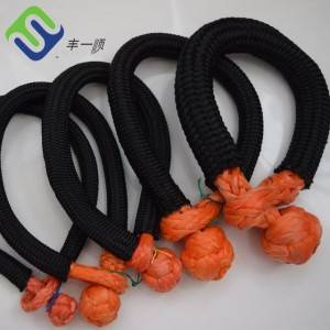 25mm 12 Strand UHMWPE Soft Rope Shackle for Sale