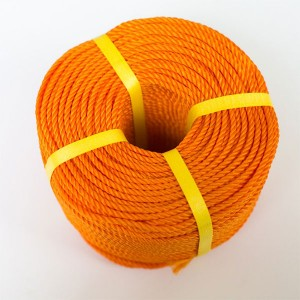 New Delivery for Tugboat Uhmwpe Rope - Colored 3 Strands Polyethylene Rope – Florescence