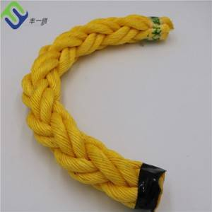 Wholesale High strong colour 8 strands monofilament PP Fishing