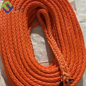 Super Strong Double Braided UHMWPE Rope For Mooing Lina