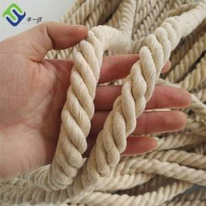 High Strength Popular China 10mm 100% Natural Art Cotton Rope