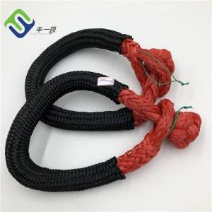 11mm 12mm Double Braided UHMWPE Rope Soft Shackle for Sale