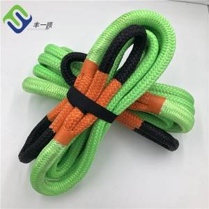 Double Braided Nylon 66 Tow Rope Kinetic Recovery Offload Rope
