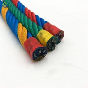 6 Strand Playground Climbing Rope with Connector for Indoor Playground Equipment