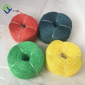 Quality assured PP plastic packing rope