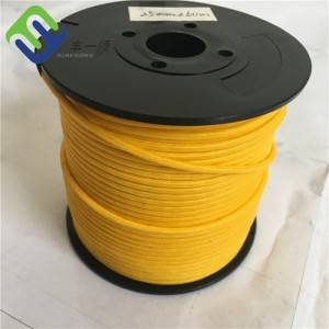 Customized Size 12 Strand 6mm uhmwpe Synthetic Winch Rope
