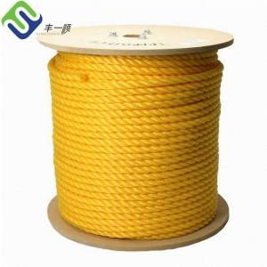 4mm-56mm 3 Strand Twisted Polypropylene PP Rope
