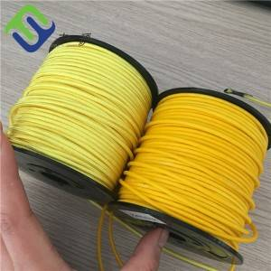 High tensile 12 Strand UHMWPE Rope 1.5mm Jacket Synthetic Winch Rope