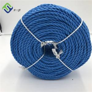 Wholesale 3 Strand Twisted Polypropylene Plastic Packaging Rope