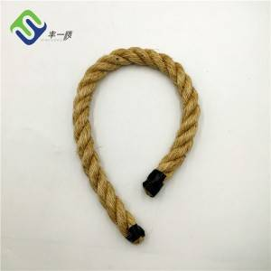 Best Quality Factory Bulk 5-60mm Twisted Jute Sisal Natural Hemp Manila Rope