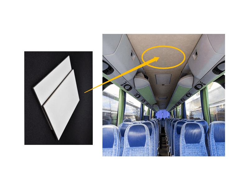 Soffitto di Bus & Coach