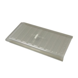 Heat And Air Deflector Clear Molded Plastic-HD15