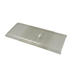 Heat And Air Deflector Clear Molded Plastic-HD15-01