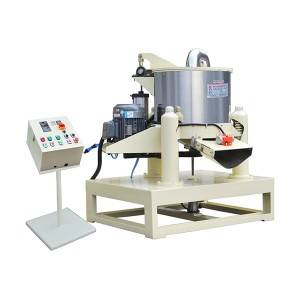 Wholesale Price Bowl Shape Vibratory Polishing Machine With Parts Separator And Ce  Automatic Discharge Dehydration Machine