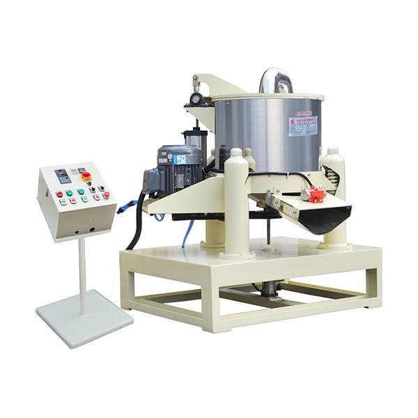 Wholesale Price Bowl Shape Vibratory Polishing Machine With Parts Separator And Ce  Automatic Discharge Dehydration Machine Featured Image