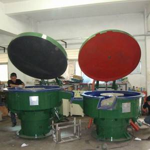 Vibratory Drying Finishing Machine Wseparating Sieve