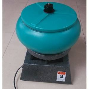 Wholesale Price Bowl Shape Vibratory Polishing Machine With Parts Separator And Ce  Small Vibratory Polishing Machine