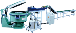 Wholesale Price Bowl Shape Vibratory Polishing Machine With Parts Separator And Ce  Fully Automatic Vibratory Finishing Production Line
