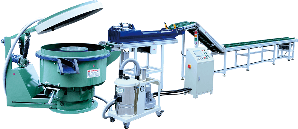 Manufacturer of Magnetic Polishing Deburring Cleaning Machine Fully Automatic Vibratory Finishing Production Line Featured Image